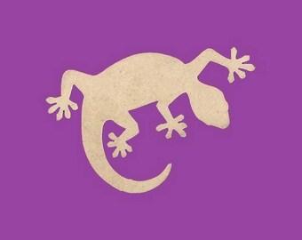 Blank MDF salamander lizard medium support