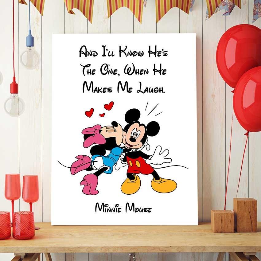 Minnie Mouse Geburtstag Disney-Zitate Minnie Maus Kunst