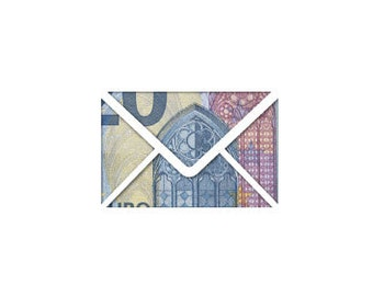 Money gift card envelope