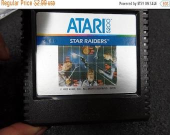 10%OFF3DAYSALE Atari 5200 1982 Star Raiders video game cartridge used