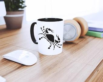 Cancer Vinyl Decal | Horoscopes | Zodiac Signs | Astrology | Laptop Decal | YETI Decal | Car Decal | Coffee Mug Decal