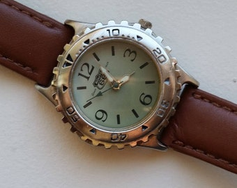 Route 66 Watch with Leather Band