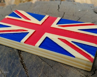 Union Jack Wood Flag | UK Flag, British Wood Flag, United Kingdom Flag, England Flag, Wood Flag, Union Flag, UK Wood Flag, Flag Wall Decor