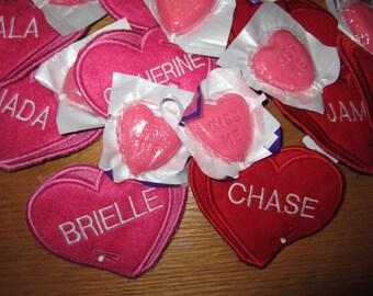 Valentine's Day Lollipop Holder Custom Saying