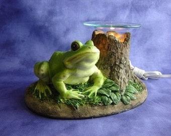 frog oil burner etsy