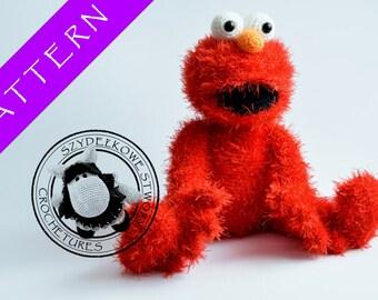 Elmo crochet pattern