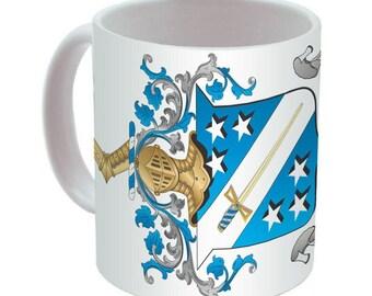 Phi Delta Theta Crest Coffee Mug