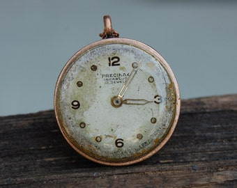 Steampunk necklace, watch face necklace, industrial necklace, Stocking Stuffers