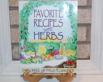 Favorite Recipes with Herbs cook book