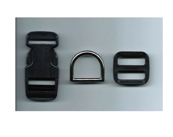 Large Dog Buckle Hardware-Set of 2