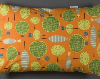 Cushion pillow with owls february finds vintage finds retro 50's