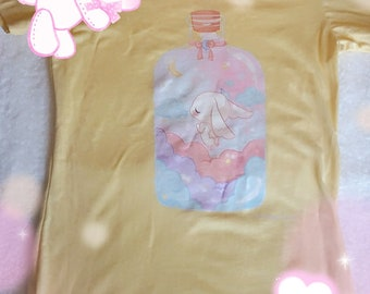 Dream In a Bottle Kawaii Women's T-Shirt Small, Medium, Large, XLarge, 2XLarge