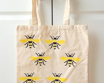 Yellow bee bag