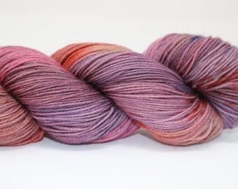 Hand Dyed Yarn - Superwash - Sock Yarn - 80/20 Merino/Nylon - Variegated - 'Mystery'