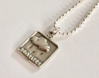 Sterling Silver Rain Cloud Necklace