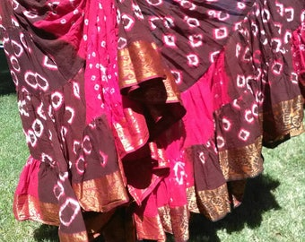 Free shipping!!! 25 yd Jaipur belly dance skirt Free gift purchase! Shavonni original ATS Tribal fusion