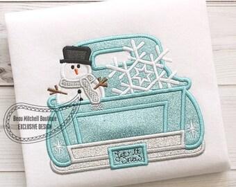Snoman Snowflake truck