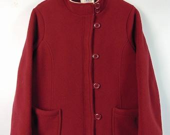 Vintage Red Fleece