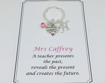 Favorite teacher gift, gift for teacher, thank you teacher, teaching assistant gift