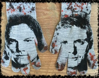 DiY SUPERNATURAL Gloves Sam Dean Winchester