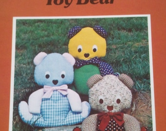 1979 TOY Bear a Patchwork Pattern by Yours Truly designs