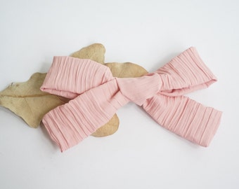 Dusty Rose Eleanor Headband or Clip