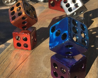 Small Welded Metal Dice