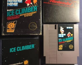 Ice Climber Nintendo NES Video Game NA Version Complete From 1985