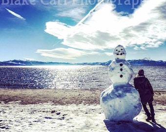 The Abominable and Slightly Intolerable Snowman (Lake Tahoe, California)