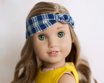 Knotted Fabric Headband for 18 Inch American Girl Dolls