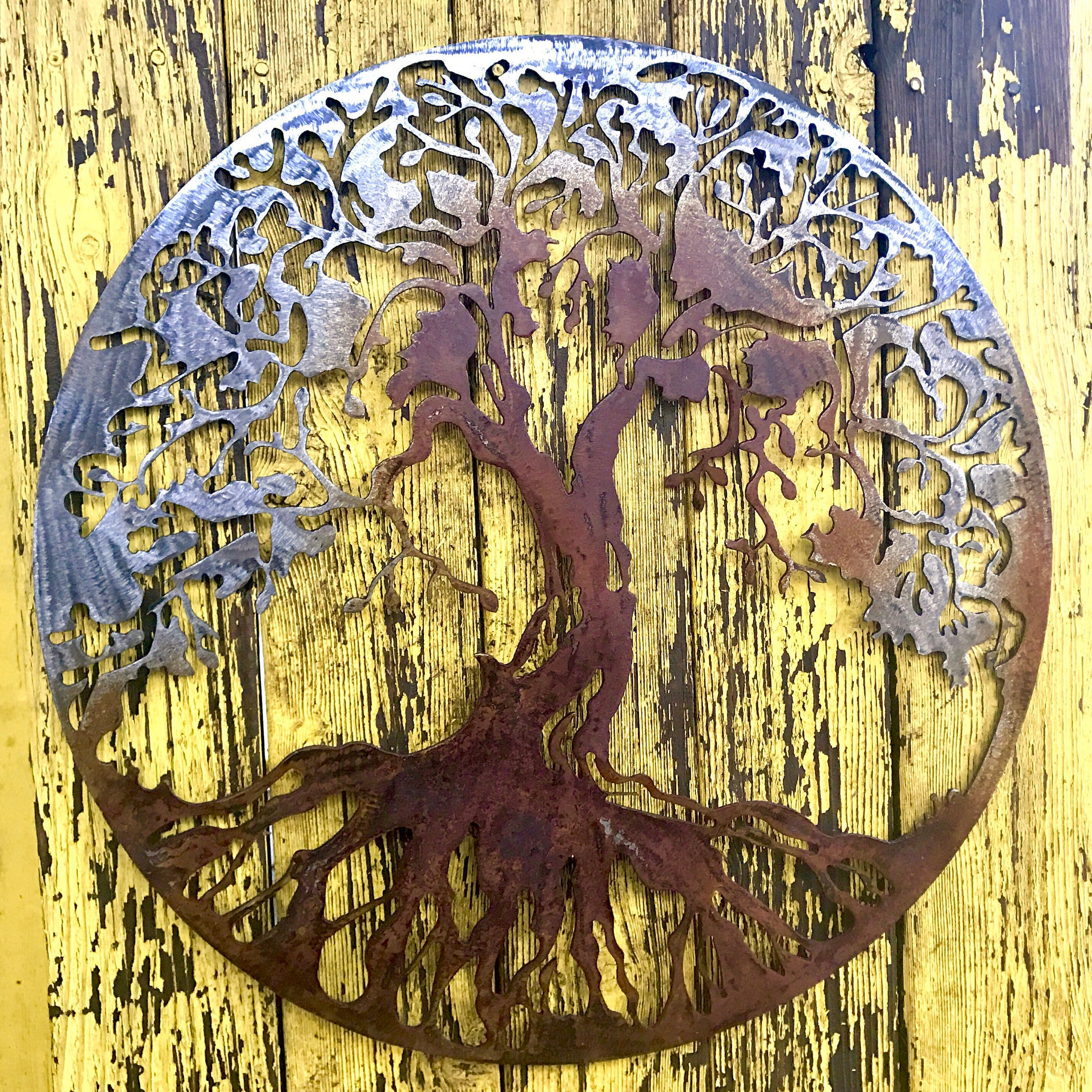 Fancy Tree Of Life Metal Wall Art Decor Ornament - Wall Art ...