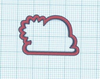 Sun with Cloud cookie cutter