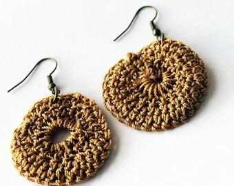 Crochet Earrings {HAITI}
