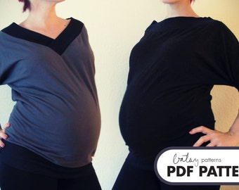Park Top Maternity - PDF Pattern