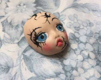 Broken Doll Babyface Brooch