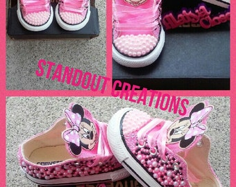 Inspired Minnie Mouse Converse