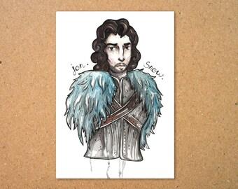 Original Jon Snow Illustration