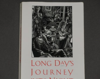Long Day's Journey Into Night - Eugene O'Neill - Drama - Yale University Press 1989 - Vintage Softcover Book