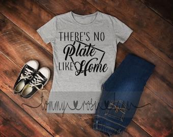 There's No Plate Like Home Baseball mom life  Tshirt,  Baseball Mom Shirt, Love Baseball Tshirt, Womens Sports shirt, Baseball Spirit Shirt