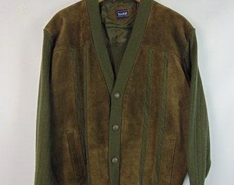 Vintage Khaki/Brown Jacket
