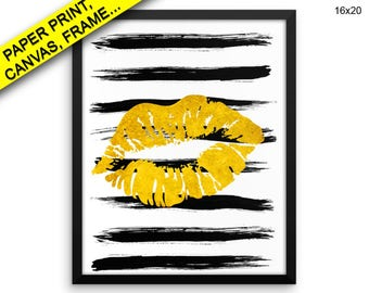 Lips Prints Lips Canvas Wall Art Lips Framed Print Lips Wall Art Canvas Lips Beauty Art Lips Beauty Print Lips lipstic decor fashion makeup