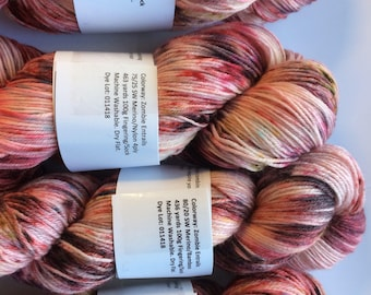 """Hand dyed """"Zombie Entrails"""" Pick your base"""