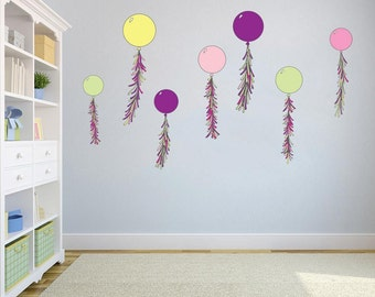 Balloon wall sticker pack