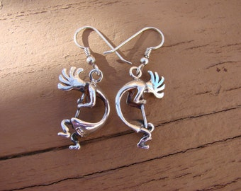 70% OFF Going Out of Business Sale.. Last One. Kokopelli Earrings Sterling Silver