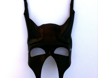 Zeus Leather Mask