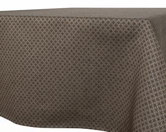 Linen Tablecloth   Dark Grey Tablecloth   Table Cover   Table Cloth   Table  Linen  