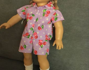 Shorts and shirt for 18 inch dolls