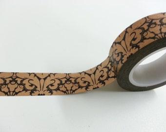 Vintage Style Washi / Masking Tape - 15 mm x 10 M
