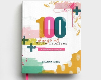 Shanna Noel - 100 Days of Bible Promises - Devotional Journal, a perfect companion for your Bible Art Journaling