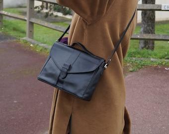 Messenger bag/Crossbody bag/Shoulder bag/Handbag/Vintage/Leather bag